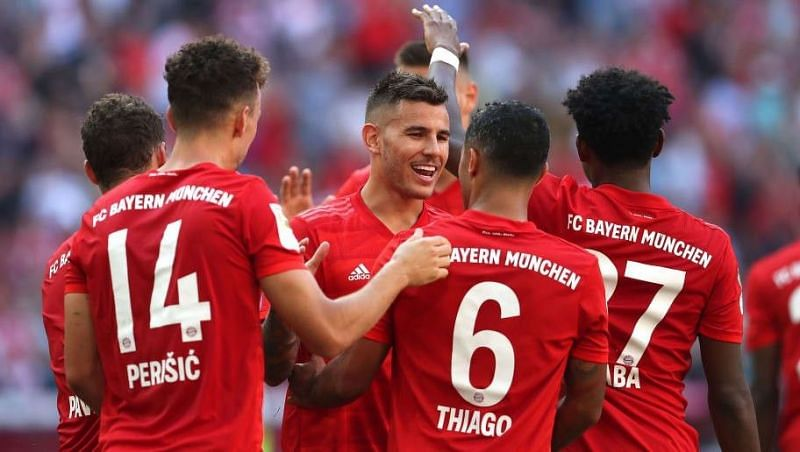 Bayern Munich completed a comfortable victory over Red Star