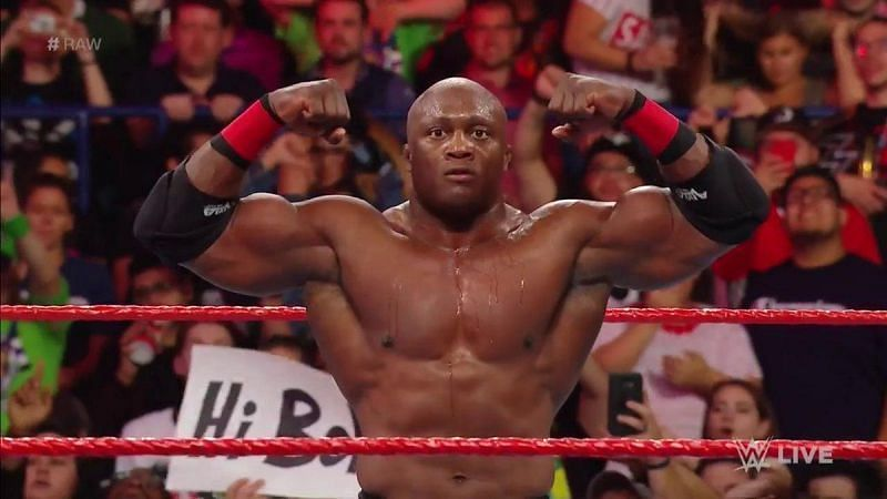 Bobby Lashley versus Brock Lesnar would be a very interesting match
