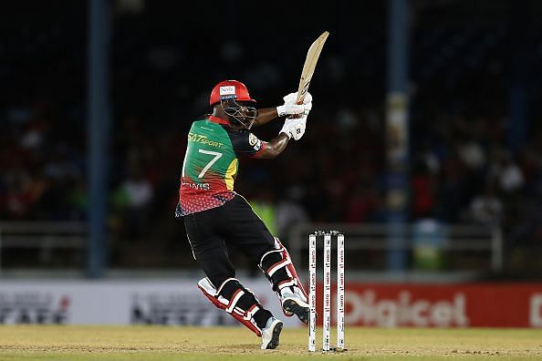 Lewis looked in good touch against the Knight Riders
