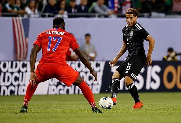 Gold Cup 2019 final action - Mexico vs USA