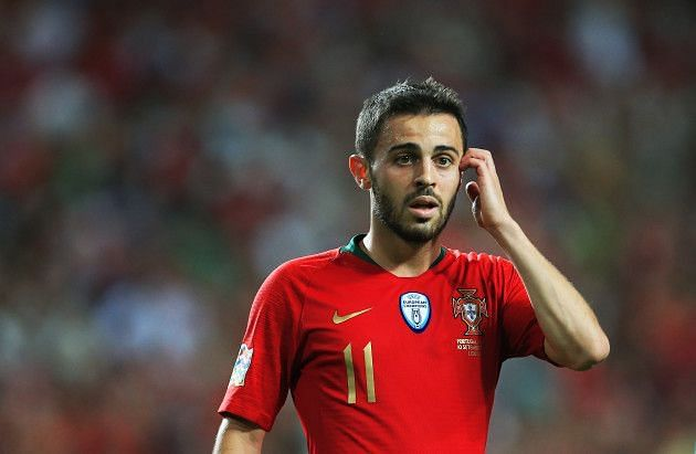 Bernardo Silva enters the qualifying fixture in a rich vein of form