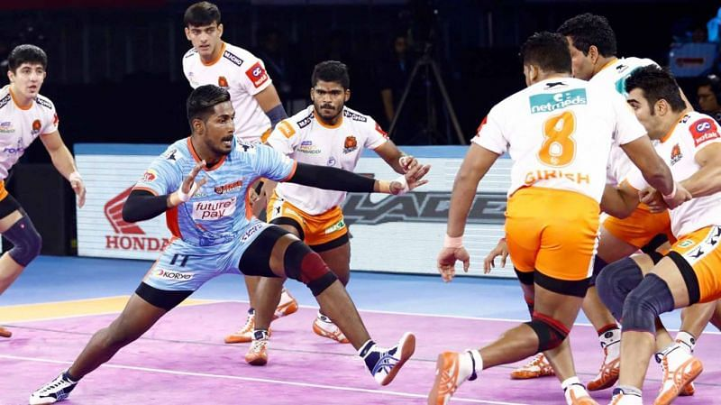 K. Prapanjan was dropped from the playing seven of last two matches
