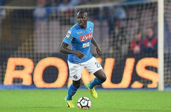 SSC Napoli defender Kalidou Koulibaly faced racial abuse at the San Siro