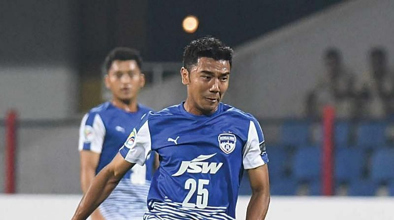 Former Bengaluru FC striker Daniel Lalhlimpuia is one of the highly talented strikers in Indian football