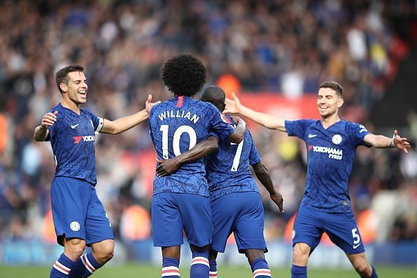 Chelsea recorded their fourth consecutive win in a row in all competitions