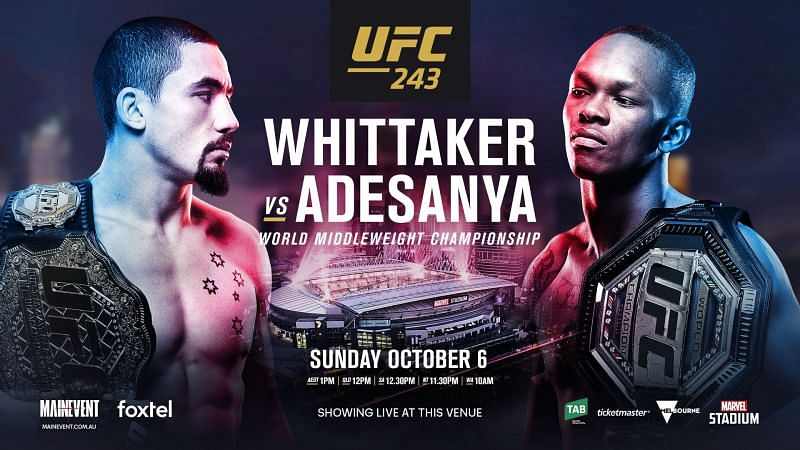 The UFC heads Down Under this weekend for a huge Middleweight title unifier