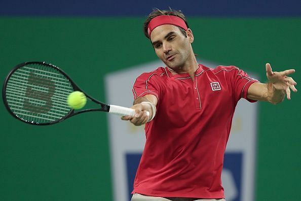 The record for most consecutive Slam appearances had belonged to Federer for a while