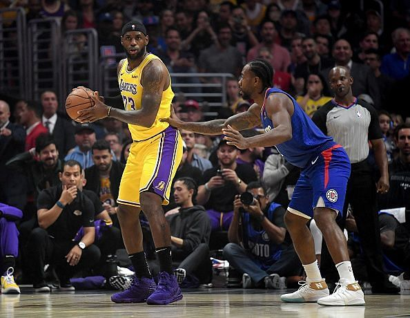 LeBron James has been running the point guard position for the Lakers to start the season