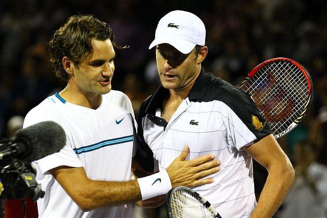 Federer loses to Roddick in the 2008 Miami quarterfinal