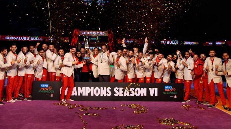 Bengaluru Bulls are the defending champions of the tournament