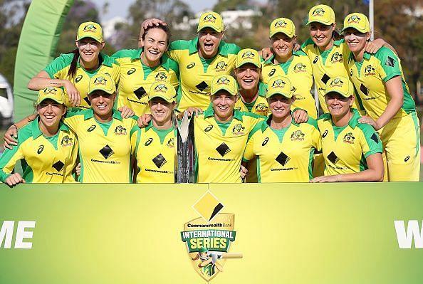 ऑस्ट्रेलिया महिला टीम