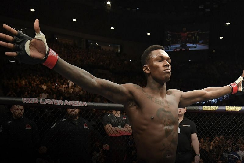 Israel Adesanya faces Robert Whittaker for the UFC Middleweight title this weekend