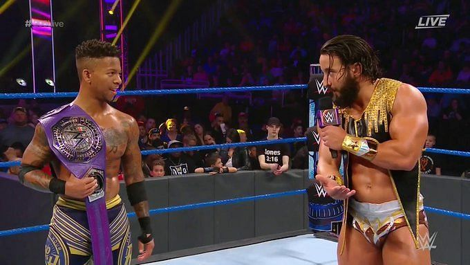 The Premier Athlete looked to one-up the Cruiserweight Champion