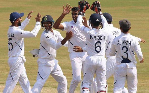 विशाखापट्टनम टेस्ट में भारतीय टीम