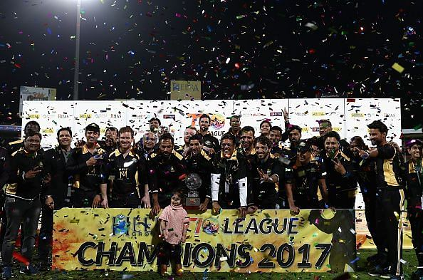 T10 League at Sharjah Cricket Stadium - Day Four