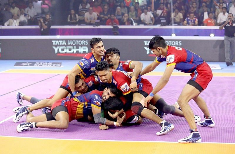 Bengaluru Bulls defeated UP Yoddha by a hair