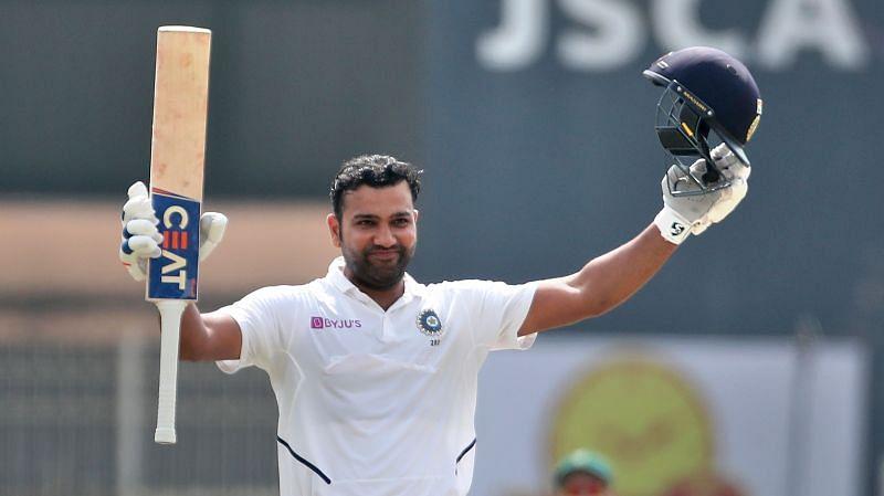 रोहित शर्मा ने दक्षिण अफ्रीका के खिलाफ अपने टेस्ट करियर का पहला दोहरा शतक लगाया