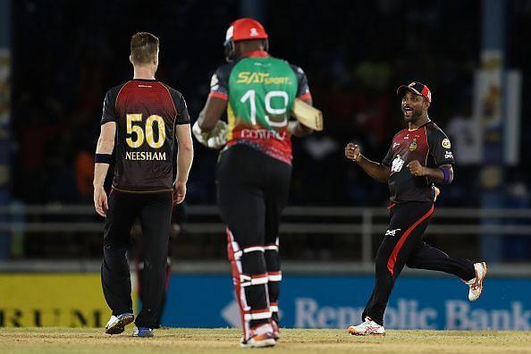Trinbago Knight Riders v St Kitts Nevis Patriots - 2019 Hero Caribbean Premier League (CPL)