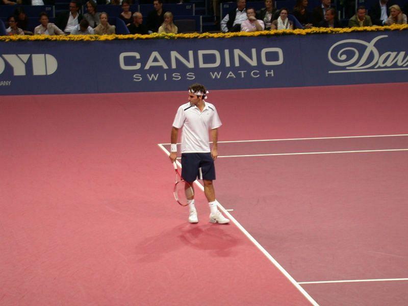 Federer at 2006 Basel