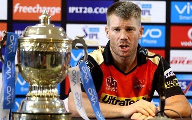 सनराइजर्स हैदराबाद के सलामी बल्लेबाज़डेविड वार्नर