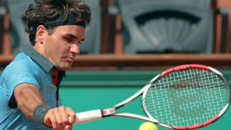Federer at the 2009 French Open