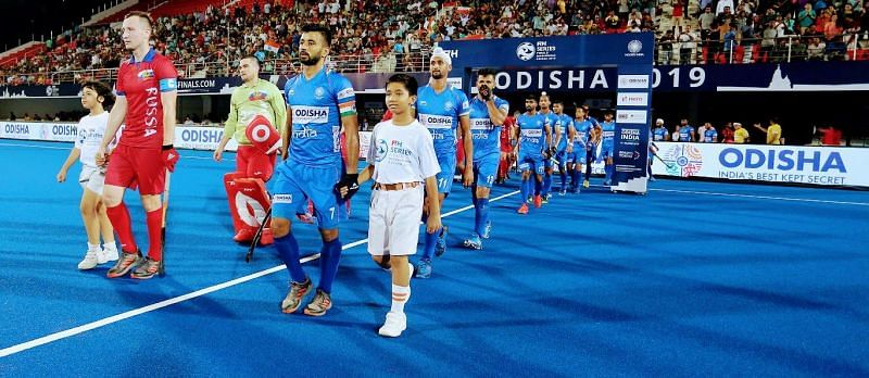 A full-strength Indian team is all set to take on the Russians at Bhubaneswar.
