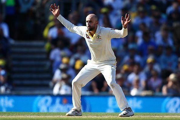 Nathan Lyon has impressive figures against India