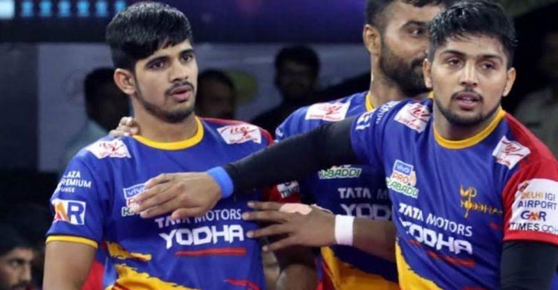 Sumit (left) and Nitesh Kumar (right)