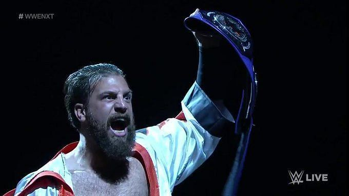Gulak has been absolutely dominant in his run at the top of the Cruiserweight division