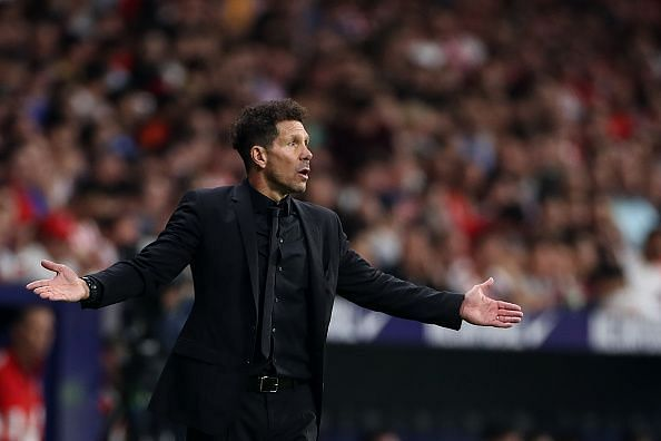 Diego Simeone - Atletico Madrid manager