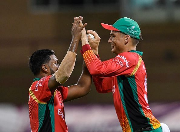Guyana Amazon Warriors v Jamaica Tallawahs - 2019 Hero Caribbean Premier League (CPL)