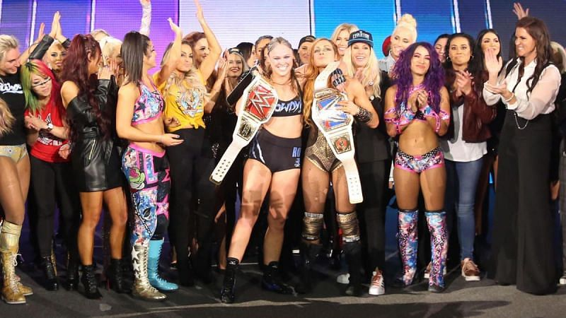 The women have done a fantastic job after receiving the spotlight