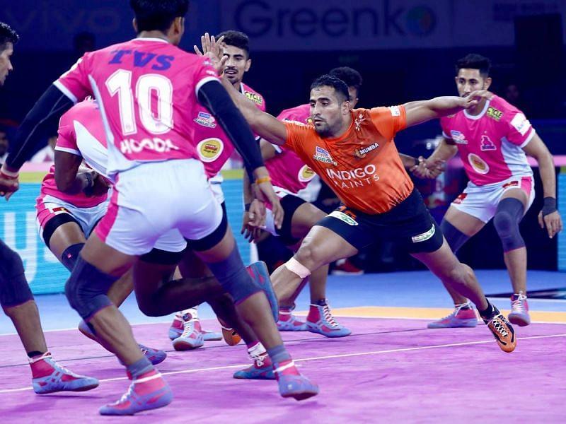 Sandeep Narwal did well for U Mumba