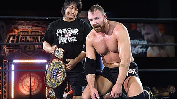 Jon Moxley is the current IWGP US Champion
