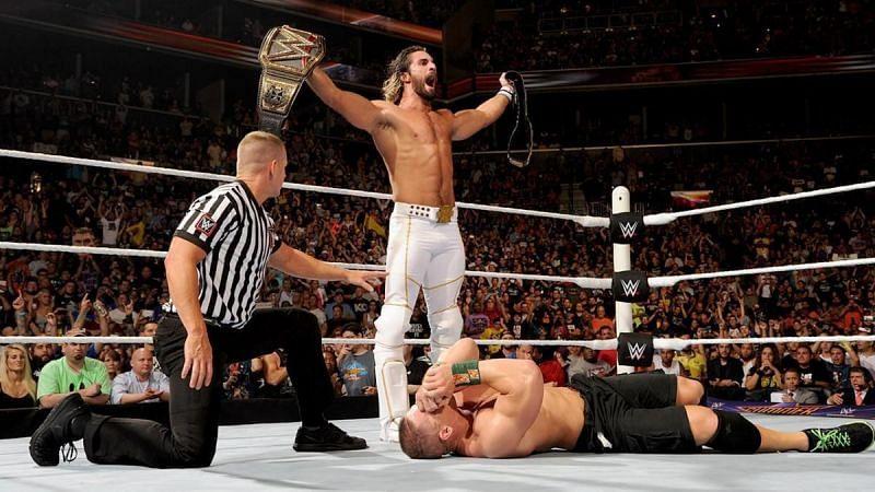 जॉन सीना को हराकर डबल चैंपियन बने थे सैथ