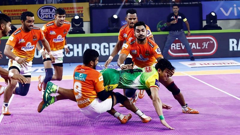 Puneri Paltan could not do too well on the defensive front