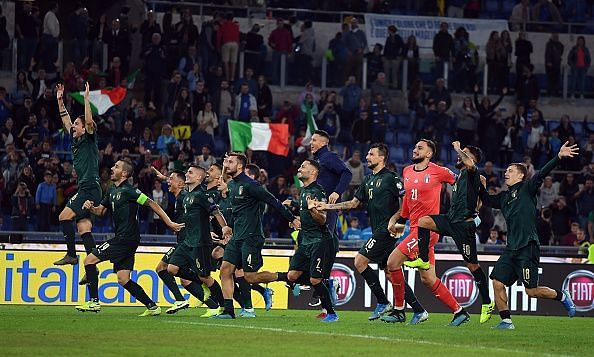 Italy qualified for UEFA Euro 2020 with a win over Greece.