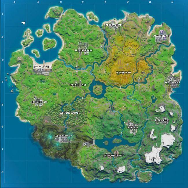 The bigger, upgraded Fortnite map