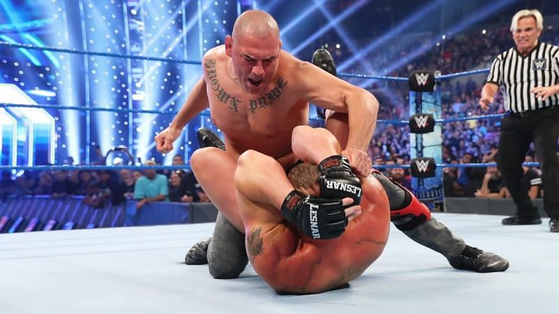 Cain Velasquez is brand new to the WWE landscape. What if he wins a world title right out of the gate?