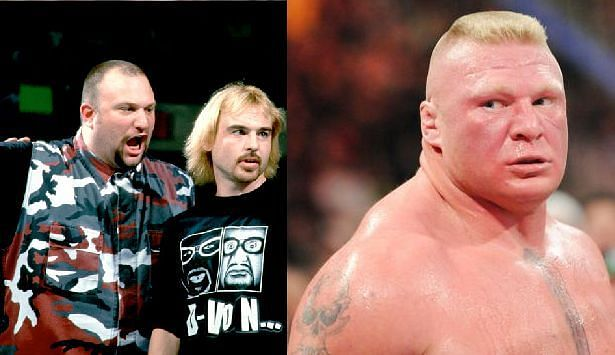 Bubba Ray, Spike, and Lesnar