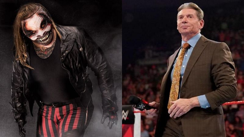 The Fiend and Vince McMahon