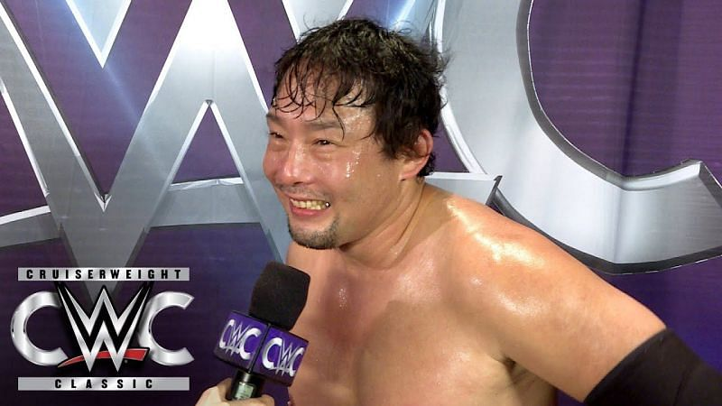 Tajiri had some interesting things to say during the interview