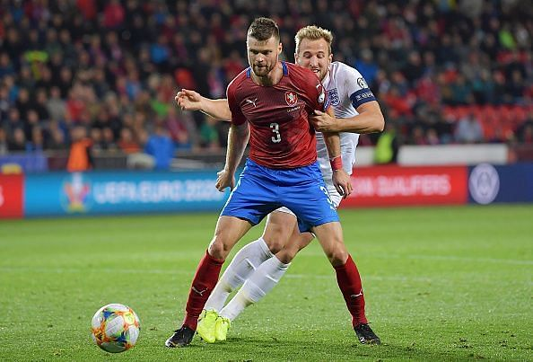 Czech Republic were extremely brave on the ball