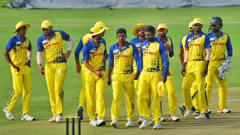 तमिलनाडु टीम (Photo: PTI)