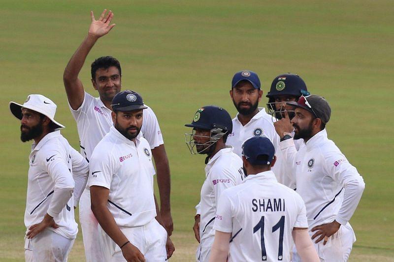 भारतीय टीम को पहली पारी में 71 रनों की बढ़त (फोटो: BCCI)