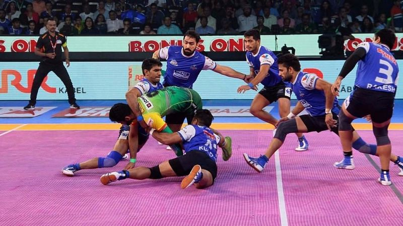 Haryana Steelers were blown away by Pardeep Narwal in the playoffs of PKL 2017