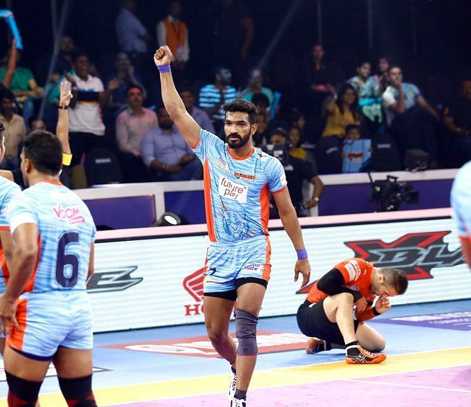 U Mumba succumb to the Bengal Warriors in a fervid encounter