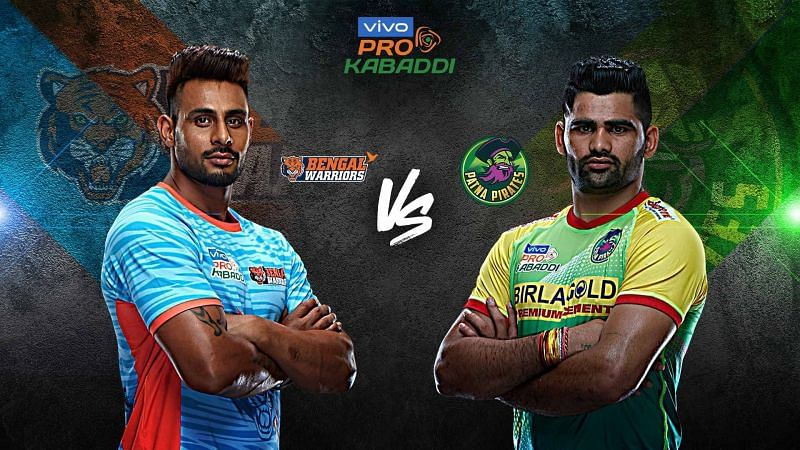 Bengal Warriors look for the top position with a win over Patna Pirates.