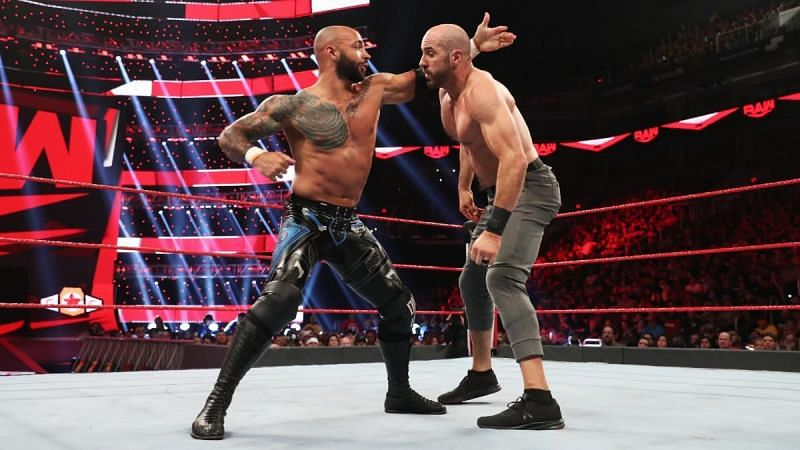 Ricochet and Cesaro had another solid match