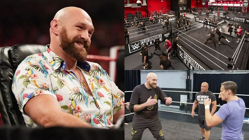 Tyson Fury has been working hard at the PC!